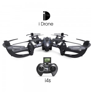 I4S 2MP CAMERA 2.4GHZ 4 CHANNEL 6 AXIS GYRO QUADCOPTER 3D ROLLOVER RTF VERSION