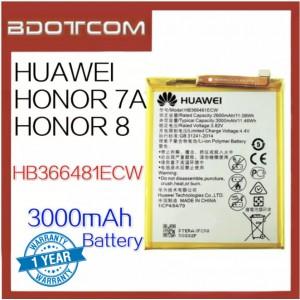 Huawei Honor 7A / Honor 8 3000mAh HB366481ECW Standard Battery