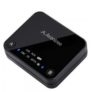 Avantree Audikast aptX Low Latency Bluetooth Wireless Transmitter