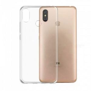 Ultra Thin Silicone TPU Case compatible with Xiaomi Mi Max 3 (Clear)