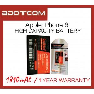 [1 Year Warranty] Apple iPhone 6 Sun Global 1810mAh Standard Battery
