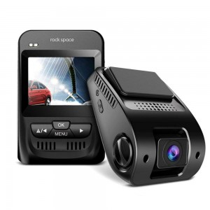 Rock Space N56 1080P 150' Wide-Angle G-Sensor Dash Car Camera