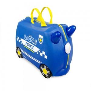 Trunki TR0323-GB01 Kids Ride-On Luggage Suitcase (Police Car)