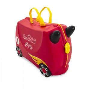 Trunki TR0321-GB01 Kids Ride-On Luggage Suitcase (Rocco Race Car)