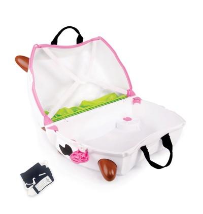 Trunki TR0047-GB01 Kids Ride-On Luggage Suitcase (Frieda Cow)