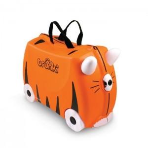 Trunki TR0085-GB01 Kids Ride-On Luggage Suitcase (Tipu Tiger)