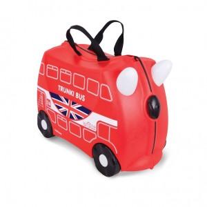 Trunki TR0186-GB01 Kids Ride-On Luggage Suitcase (Boris Bus)