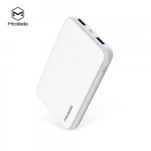 Mcdodo MC-5010 10000mAh Qualcomm Quick Charge 3.0 Power Bank (White)