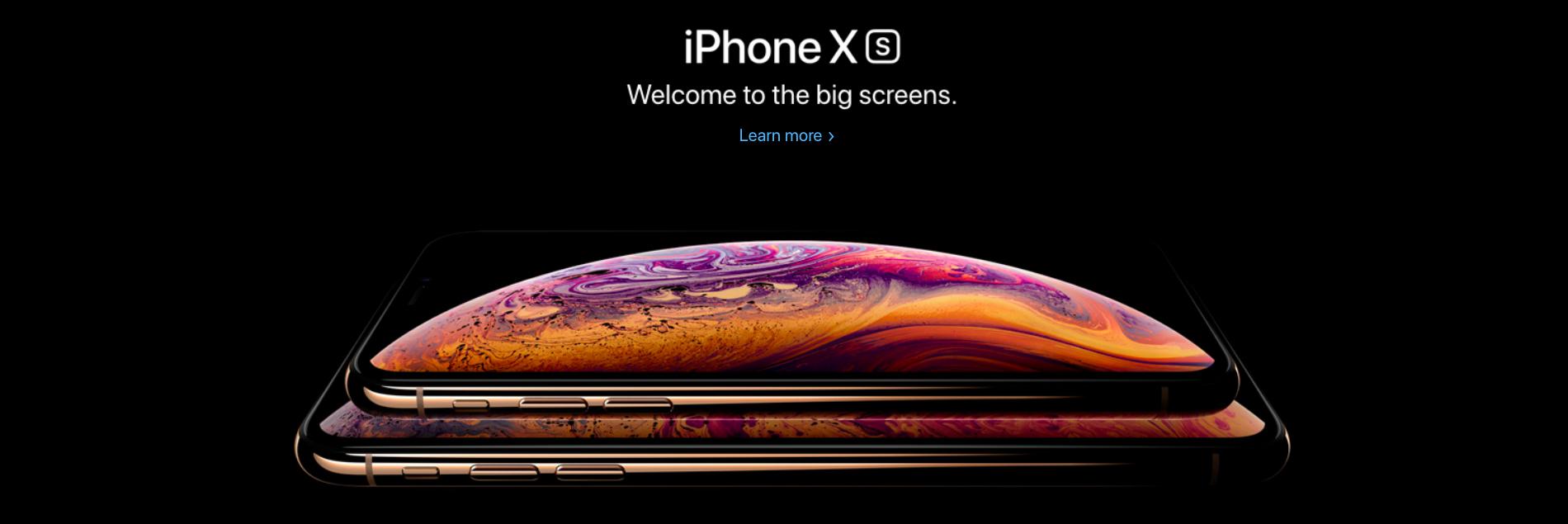 iphone xs series